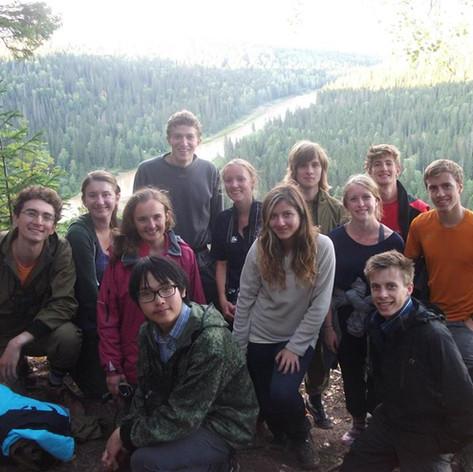 Oxford students in Perm Krai 2014