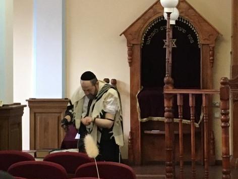 A Rabbi in Perm Synagogue