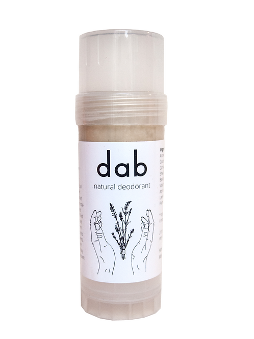dab deodorant - lavender and patchouli