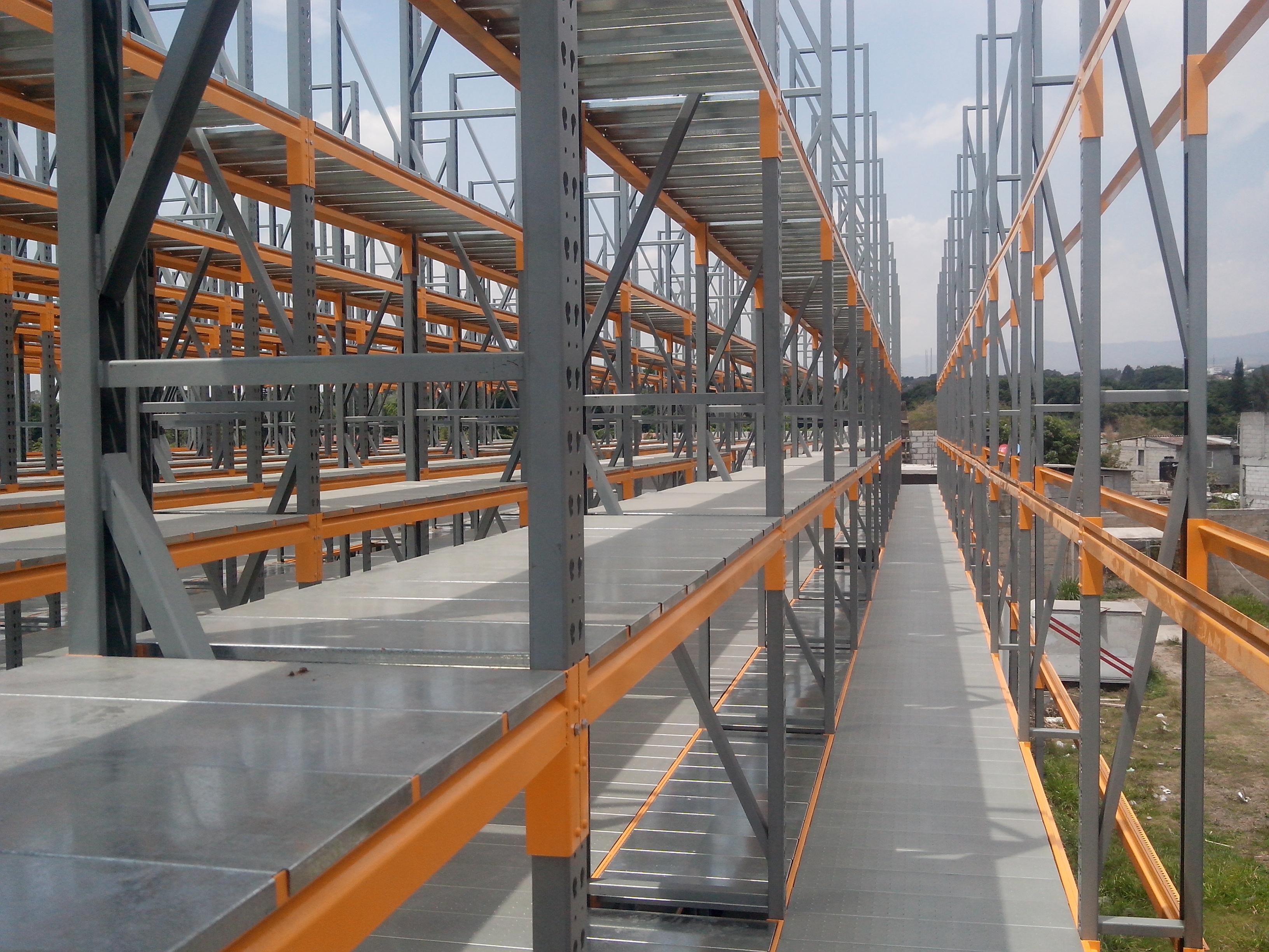 rack para techos autosoportados