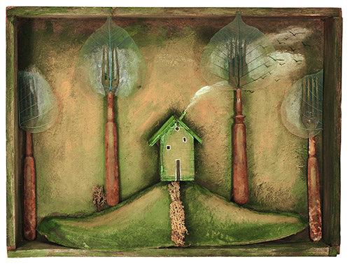 Zöld házikó
