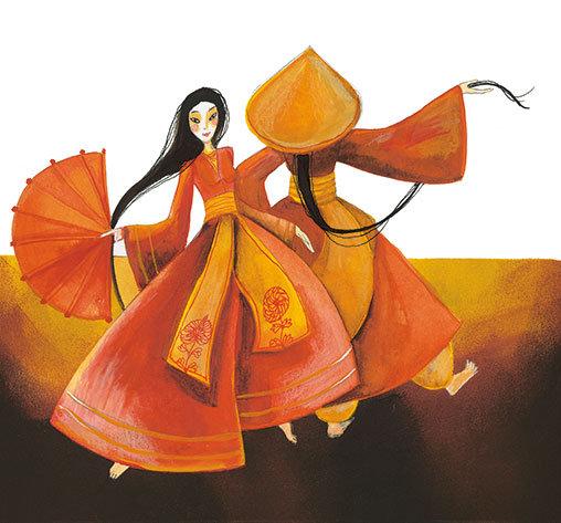 A kínai babák tánca