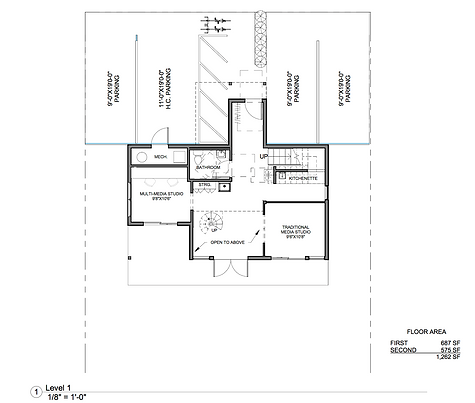 First Floor and Parking