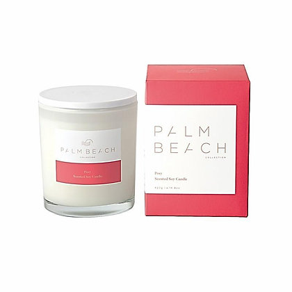 PALM BEACH COLLECTION - SCENTED SOY CANDLE 420G - POSY