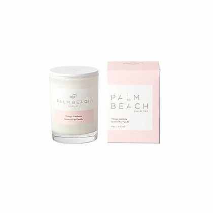 PALM BEACH COLLECTION - MINI SCENTED SOY CANDLE 90G - VINTAGE GARDENIA
