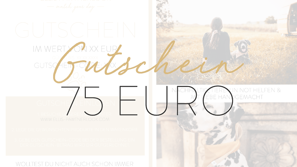 Gutschein 75 EUR