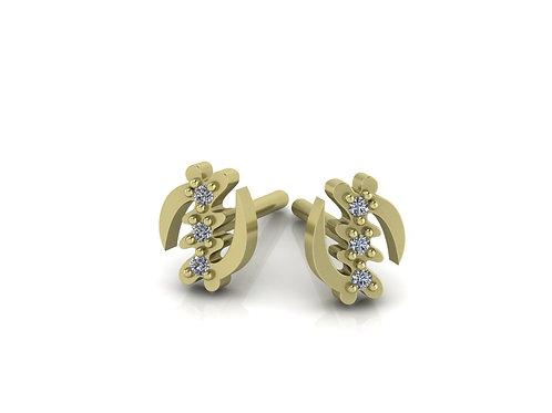 Fearless Eco-Luxe Diamond Micro Stud Earring