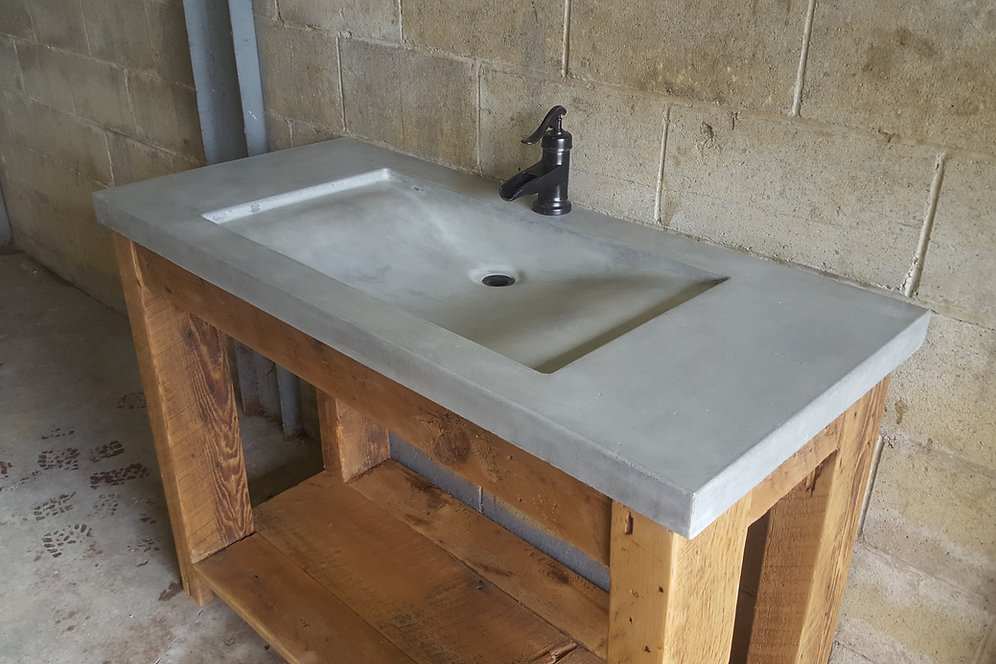 Yuma Concrete Vanity Top
