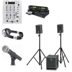 HK Audio Lucas 1000 Aktivsystem bis Indoor 150 Zuhörer