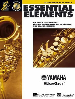 Essential Elements, für Altsaxophon in Es