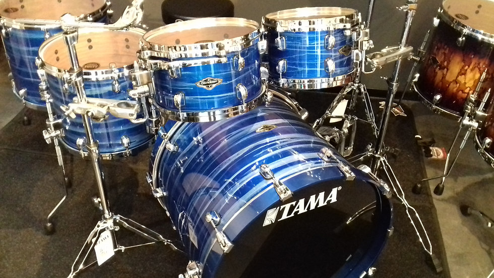 Tama Starclassic Performer mieten Lacquer Ocean Blue Ripple