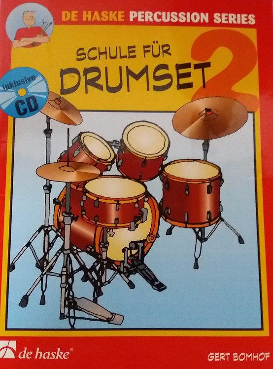 Schule für Drumset Band 2 Gert Bomhof