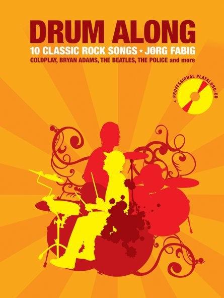 Drum Along Rock Songs mit Playalong