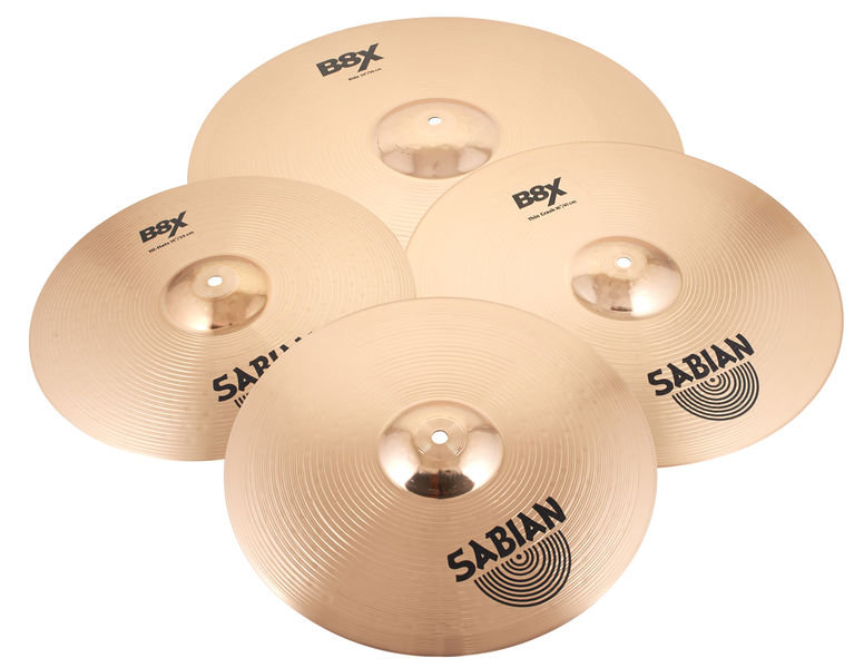 Sabian B8X Complete Set