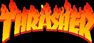 thrasher skateboard magazine logo