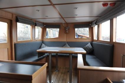 Moray Firth Boat Trip on board