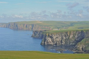 Moray Coast, view from a Moray Firth Dolphin Boat Trip