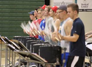 Percussion Student Leadership Team Announced