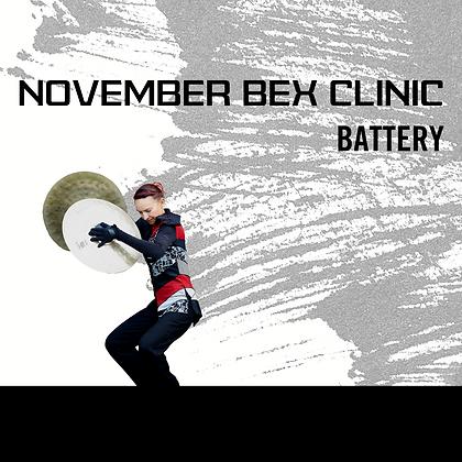 November - Colorado BEX Clinic - Battery