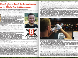 The Battalion Featured in Drum Corps World