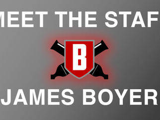 Meet the Staff - James Boyer, Visual Caption Head