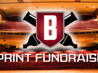 Public showcase tied to sprint fundraiser
