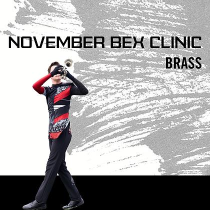 November - Colorado BEX Clinic - Brass