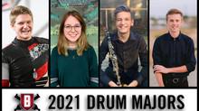 Meet Our 2021 Drum Majors