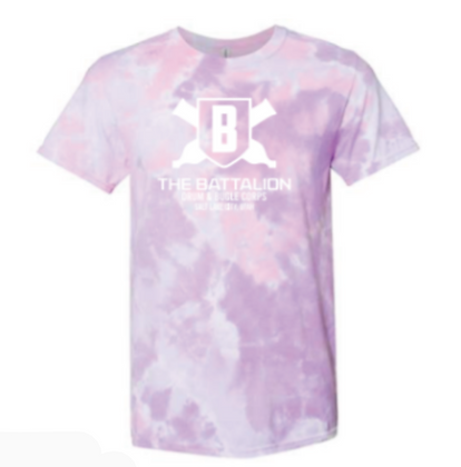 Tie-Dye Shirt with the Basic Cannon Logo