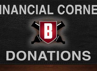 Financial Corner - Donations