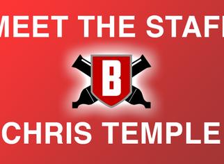 Meet the Staff - Chris Temple, Battery Clinician