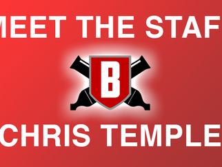 Meet the Staff - Chris Temple, Battery Clinician
