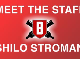 Meet the Staff - Shilo Stroman, Front Ensemble Caption Head