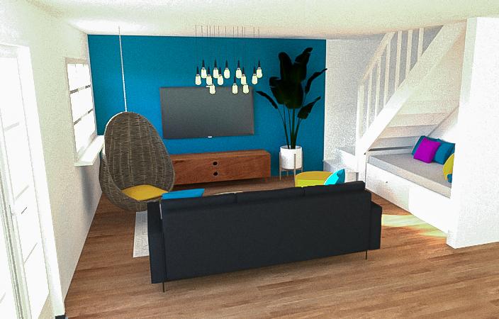 3D VISUALIZATION - PRIVATE HOUSE IN COPENHAGEN