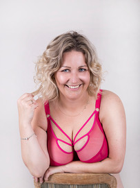 A series of portaits for a lingerie business