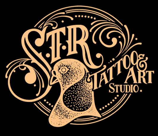 STR Tattoo & Art Studio logo - best tattoo artists in NSW Australia