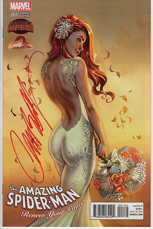 Amazing Spider-man: Renew Your Vows #1 J. Scott Campbell Exclusive w/ COA