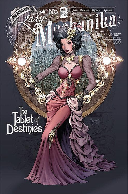 Lady Mechanika Tablet Of Destinies #2 Bluerainbow Exclusive Ltd 500