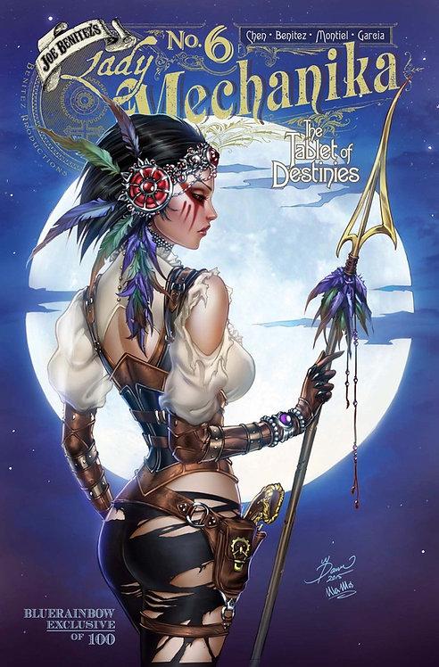 Lady Mechanika Tablet Of Destinies #6 Bluerainbow Exclusive Ltd 100