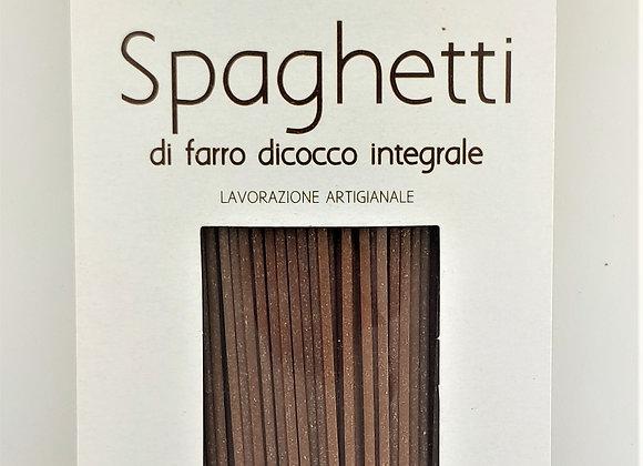 Spaghetti biologici di farro integrale