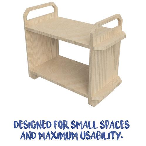 Micro Nomad storage unit