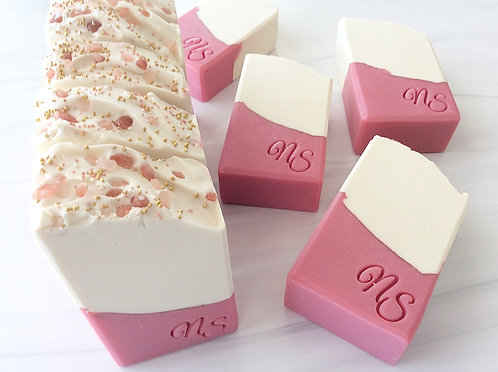 Rose Gold Handcrafted Soap