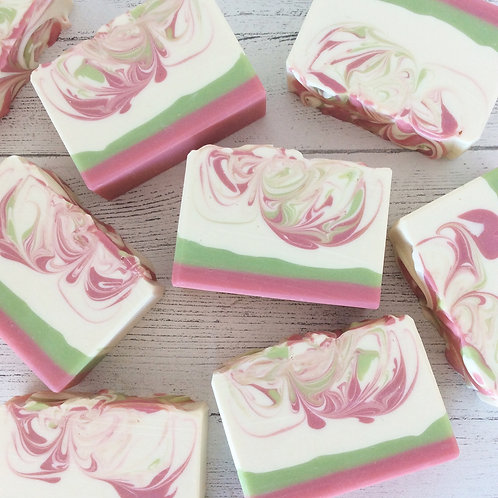 Wild Berry Tulip Handcrafted Soap