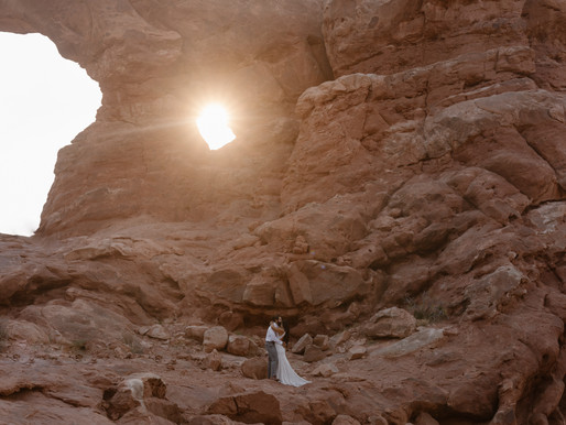 Arches National Park Elopement | How to elope in Arches National Park in Utah