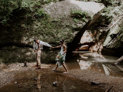 How to Elope in Ohio | Top 5 Ohio Elopement Locations