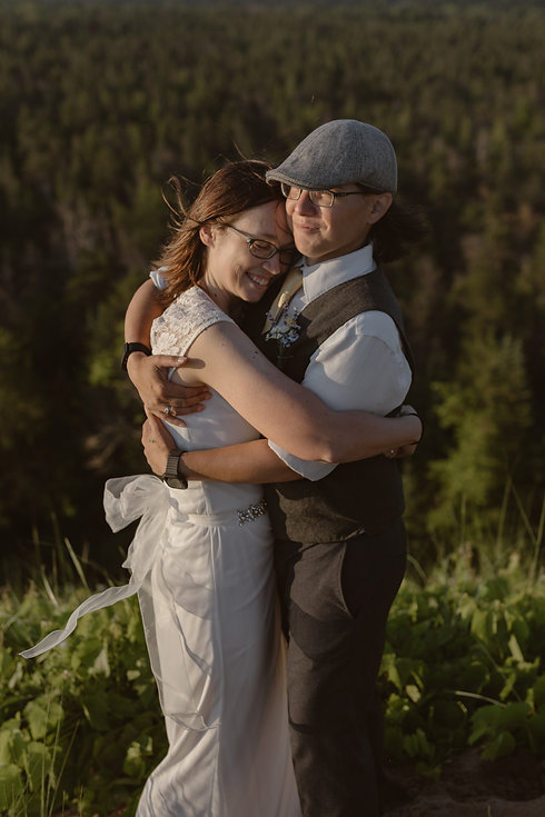 Michigan Elopement Sleeping Bear Dunes |