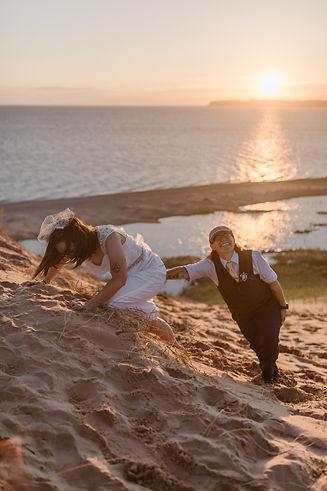 Joy&Ashley_Sleeping_Bear_Dunes_Elopement