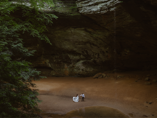 Elope in Hocking Hills, Ohio | The Ultimate Guide on How to Elope in Hocking Hills, Ohio
