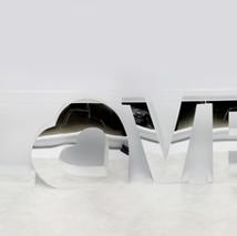 Mirror Finish Love Table