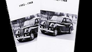 Vanden Plas Model Booklets